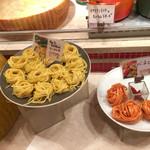 ラ・スイートパスタ - 柚子胡椒のリングイネ、ハバネロのパスタ。