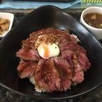 Tepppan 翔 - ♪ステーキ丼¥950