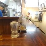 麺屋 大申 池袋店 - 店内(カウンター席)