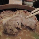 田所商店 - 北海道味噌 味噌漬け炙りチャーシュー麺のチャーシュー