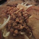 田所商店 - 北海道味噌 味噌漬け炙りチャーシュー麺のひき肉