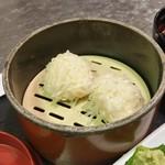 海中魚処 萬坊 - 萬坊さんは、「いかしゅうまい」の発祥としても有名