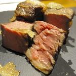 トラットリア ソメヤ - アンガス牛リブロースステーキ