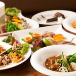Sommelier Kitchen yuB yum - 定番のヤブヤムコース!旨いもの集めました。