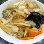 中国料理 登龍 - 中華丼(大盛)730円