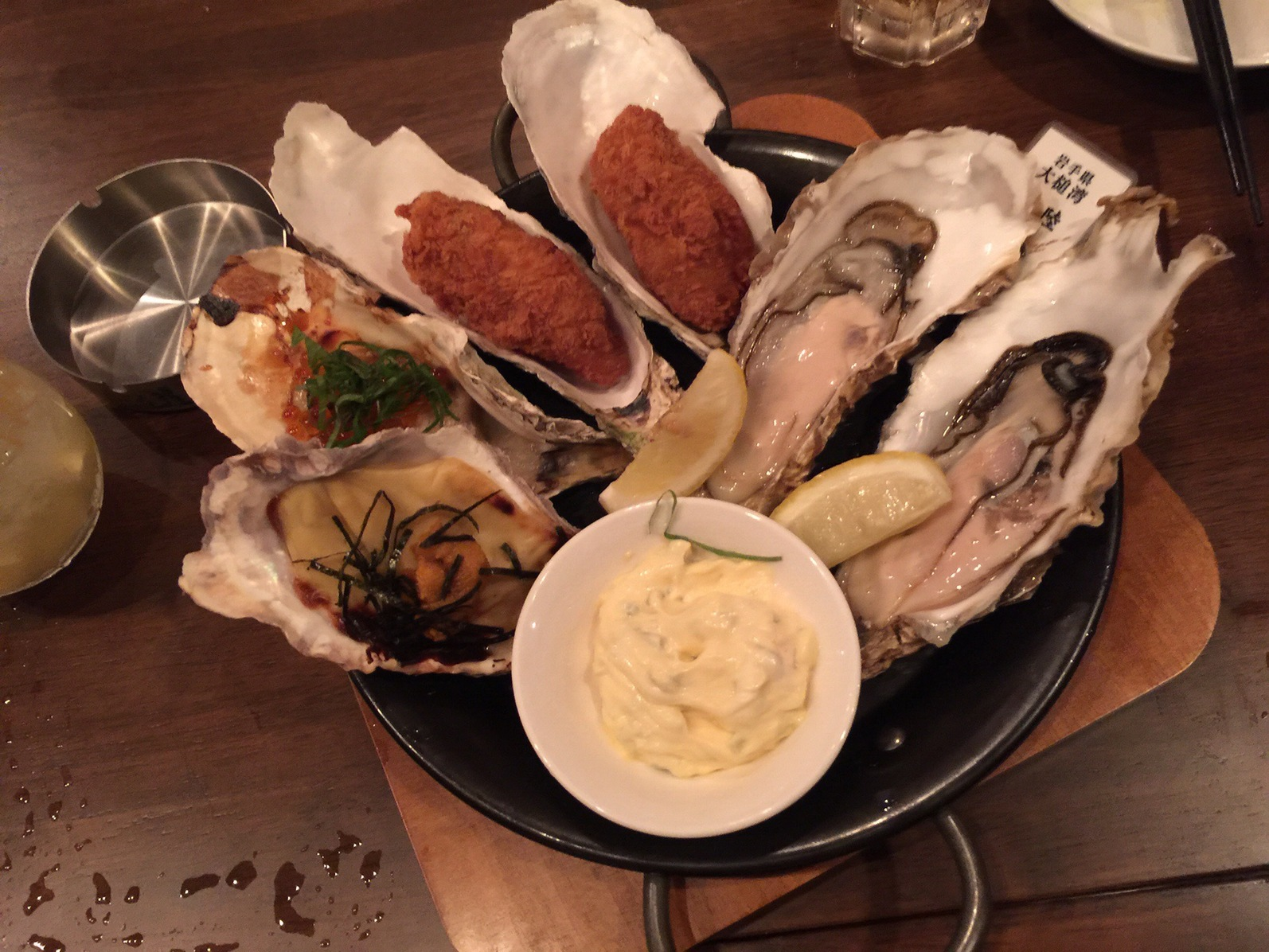 Tapas table 310 by Tokyo Oyster Bar