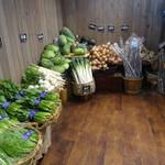 旬菜食健 ひな野 - 野菜売り場