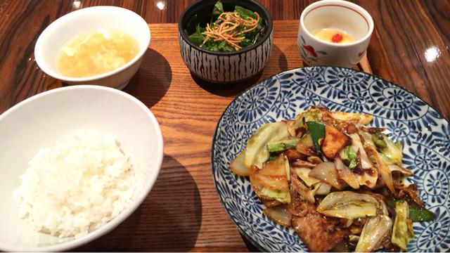 中華旬彩 森本 - 週替わりランチ この日は回鍋肉