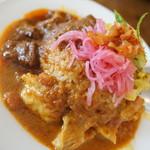 サンサーラ - 料理写真:3種盛り特選プレート