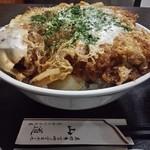 とんかつ山道 - デカツ丼(1340円) アップ