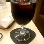 喫茶室ルノアール - ドリップアイスコーヒー:590円