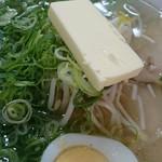 麺屋横手 - 塩バタートッピ♪
