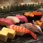 丸清寿司 - ランチ 特選にぎり 1,990円