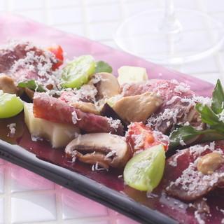 季節の素材にこだわるイタリア料理