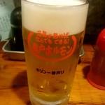 亀戸ホルモン - 生ビール:520円