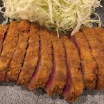 牛カツ専門店 京都勝牛 - 牛かつアップです。