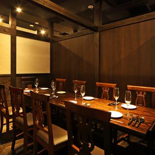 【宴会個室】7~14名様用テーブル個室