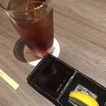 IWA - ウーロン茶 280円