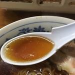 串けん - 正油ラーメン スープアップ