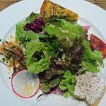 ペコラ - 前菜とサラダプレート