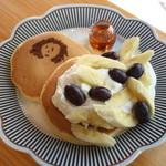 エリーズ カフェ - エリーちゃんのパンケーキ・500yen