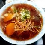 銀水 - 銀水@釧路 醤油ラーメン・大盛り