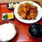 南蛮酊 - 南蛮酊@遠矢(釧路町) ザンタレハーフ・定食