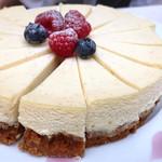 アトリウムラウンジ ミモザ - マンハッタンチーズケーキ
