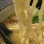 麺魂 - 浅草開花楼麺。