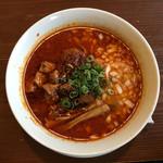 りょう花 - 炎のサムライ麺 激辛シビ 2辛(1004円)
