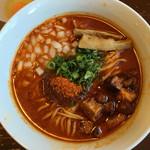 りょう花 - 炎のサムライ麺 旨辛(950円)       期間限定(〜28.12.26)