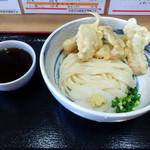 おに吉 - 料理写真:「とり天ぶっかけ」550円(税抜)