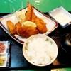 レストラン河亭 - 料理写真:レストラン河亭@中標津 フライ盛合定食