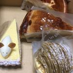 洋菓子工房 ナチュール - なめらかチーズケーキ、モンブラン、アップルパイ H28.11