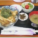 白井商店幸邦丸 - 舌ヒラメ丼 600円