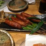花串庵 スミダマチ 2008 - ヒレ串カツ 衣が変わっていて美味しかった