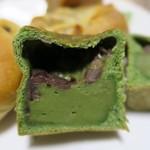 ミナトベーカリー - 抹茶キューブ