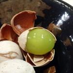 鮨いち伍 - 料理おまかせ12,000円コース:ギンナン