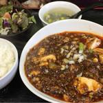 一創 - 麻婆豆腐ランチ  850円