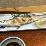 58353941 - おそらく、カマスの焼き魚。