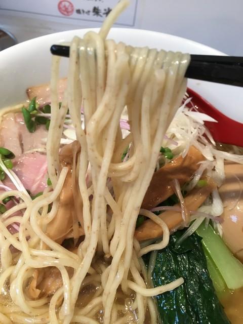 鶏そば 朱雀 - 麺