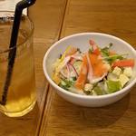 Grand Breton Cafe - セットサラダ