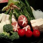 牛蔵 - 野菜盛り合わせ