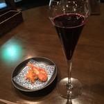 ワイン小路 Zawamon - スパークリングワイン&お通し