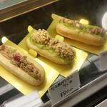 ケーキハウスsin - 「ダブルチーズバーガー」「チキンカツロール」「からあげパン」「焼きそばパン」のケーキ