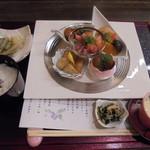 伊くま - 京のおばんざいランチメイン 1830円