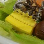 ケーキハウスsin - 卵焼き:バームクーヘン