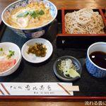 恵比寿庵 - 玉子丼セット