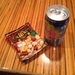 クラーテル - 直絞り(170円)とナッツ(50円)