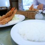 洋食入舟 - 天使の海老フライランチ